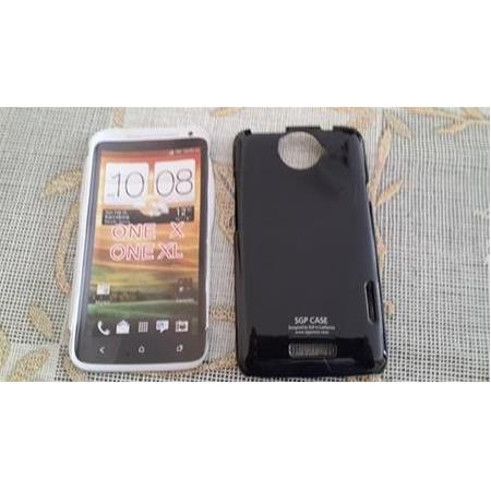 SGP HTC Sensation XL Parlak Rubber Kapak