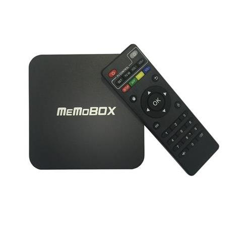 MEMOBOX MBX-Q Android TV Kutusu Quad Core Amlogic S805 1G/8G Akıllı TV Media Player KODI XBMC WiFi