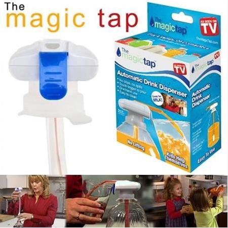 Pilli Damacana Pompası Magic Tap (5Lt Şişe ve Petler İçin)